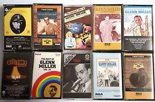 Lot of 10 Glenn Miller Cassette Tapes