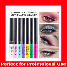 12 Color Matte Liquid Eyeliner Waterproof Eye Liner Pen Long Lasting Eye Makeup~