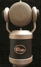 Blue Mouse Microphone + case, pop filter, Kiwi mic cable, Cranberry mic cable