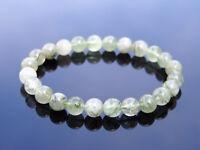 Actinolite Natural Gemstone Bracelet 6-9'' Elasticated Healing Stone Chakra