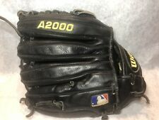 Wilson A2000 Pro Issue 1796-B Baseball Glove, Good Used Condition, Black