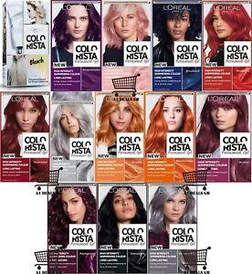 L'Oréal Paris Colorista Permanent Gel Hair Dye, All Colour/Shades Available