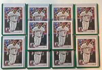Mike Trout 2020 Bowman #1 (Lot Of 10) Brand New Top Loaders Mint