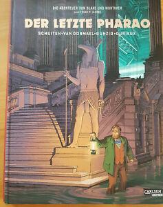 Abenteuer von Blake und Mortimer der letzte Pharao Hardcover Comic v. Schuiten