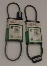 2 MTD Genuine Parts 21-Inch Drive Belt For Walk-Behind Mowers&Snow Throwers