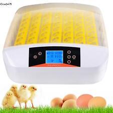 Vollautomatisch Brutmaschine 56 Eier Brutapparat Flächenbrüter Brüter Inkubator