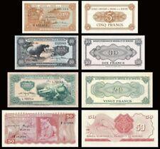 BANQUE D'EMISSION DU RWANDA ET DU BURUNDI A (1960-1962)  -  Reproductions