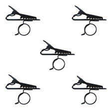 Omnitronic Replacement Tie Clips for Lapel Microphones (x5)
