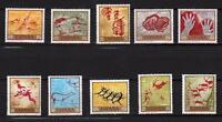 A7758) SPANIEN 1967 Scott#1449/58 MNH Archäologie-gemälde 10v