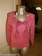 suéter rosa pálido KANABEACH emka TALLA 38 NUEVO CON ETIQUETA valor