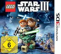 LEGO Star Wars III: The Clone Wars (Nintendo 3DS, 2011)