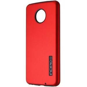 Incipio DualPro Phone Case for Motorola Moto Z4 - Red/Black
