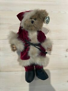 Bearington Collection Chris Santa NEW condition limited edition bear