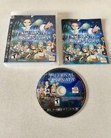 Eternal Sonata PS3 (Sony PlayStation 3, 2008) COMPLETE! Tested Working!