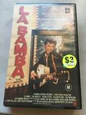 LA BAMBA THE MOVIE -  LOU DIAMOND PHILLIPS - 1987 VHS VIDEO