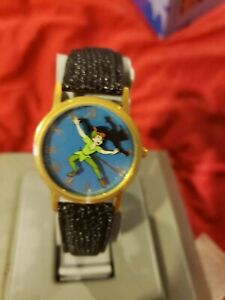 Walt Disney Vintage Peter Pan Watch Flying Shadow  limited EDITION new in box.