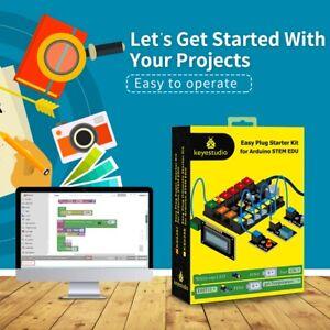 KEYESTUDIO RJ11 Elektronik Bausatz Starter Set Kit für Arduino Zubehör Kinder DE