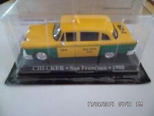 CHECKER TAXI SAN FRANCISCO 1980     1/43   F110