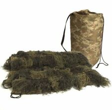 Ghillie cover 1,4m x 100 cm ghillie capa cubierta red camuflaje