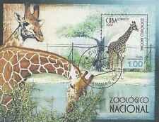 Timbre Animaux Girafes BF223 o (39209)