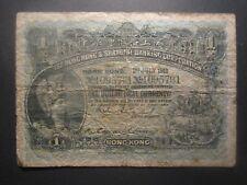 1913 HONG KONG ONE DOLLAR