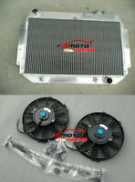 5 ROW Radiator+Fan For Holden HG HT HQ HJ HX HZ LH LX 253 308 350 V8 CHEVY AT