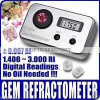 ADE Digital 1.40 to 2.00 range Gem Refractometer Gemstone, No Oil required.