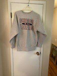 Vintage Champion Chicago Bears Reverse Weave Sweatshirt SZ 2 XL