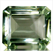 6.52 cts Natural Octagon-cut Green IF-VVS1 Amethyst (Brazil)