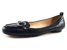 Coach Black Leather Ballet Flats, Women's Shoes Size US 7.5 / EU 38