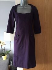REISS Purple 1950's style Pencil Dress UK 8