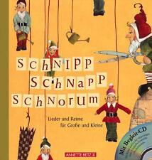 Schnipp, Schnapp, Schnorum mit Begleit-CD von Silke Leffler und Frank Helfrich (2006, Gebundene Ausgabe)
