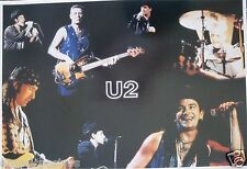 "U2 ""Collage Of Rattle & Hum Concert Shots"" Poster From Asia - Irish Rock Legends"