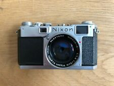 Nikon S2 EP Black Dial w/ S.C 50mm f1.4 and case
