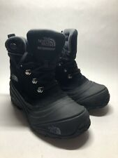 The North Face Black 200 Gram Insulation Waterproof Winter Boots - Junior Size 3