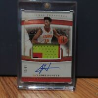 2019-20 De'Andre Hunter RPA National Treasures Rookie Auto Patch 3 Color #19/25
