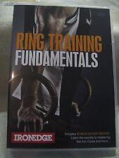 """RING TRAINING - FUNDAMENTALS"" WEIGHT TRAINING DVD ""NEW"""