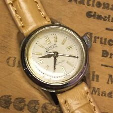 Vintage 1950s GRUEN 17J Full Rotor Automatic Waterproof Woman's Stainless Watch