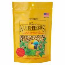 (2 Pack) LAFEBER'S Classic Nutri-Berries Pet Bird Food for Parrots 10 oz