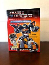 ** 2004 - Transformers Commemorative Series IX Ricochet with Nightstick **