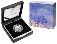 2020 Kangaroos at Dawn 'The Essence of Australia' 1/2oz Silver Proof Coin