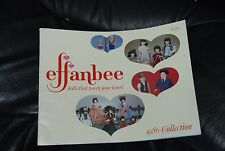 Effanbee 1986 Collection Catalog Great Condition, Our Only One