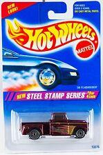 Hot Wheels No. 289 Steel Stamp Series #3 '56 Flashsider w/Ultra Hots New 1995