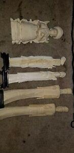 Bone Statues