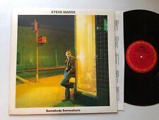 STEVE MARRS VINYL RECORD! SOMEBODY SOMEWHERE! COLUMBIA FC 37908