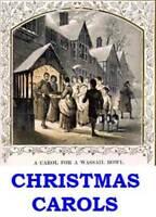 Christmas Carols Xmas Songs Vintage eBooks & Song Sheets PDF files on Data Disc