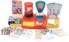 Casdon Pretend Play Realistic Post Office Interactive Toy Playset & Accessories