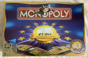 HASBRO PARKER 1999 Jeu NEUF scellé Cellophane : MONOPOLY ÉDITION EXCLUSIVE EURO
