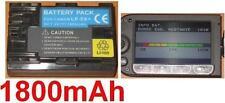 Batterie 1800mAh type LP-E6 LPE6 LP-E6N Pour Canon EOS 60Da