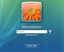 Windows Password Recovery Reset supprimer récupérer CD Disque pour XP, Vista, 7 et 8